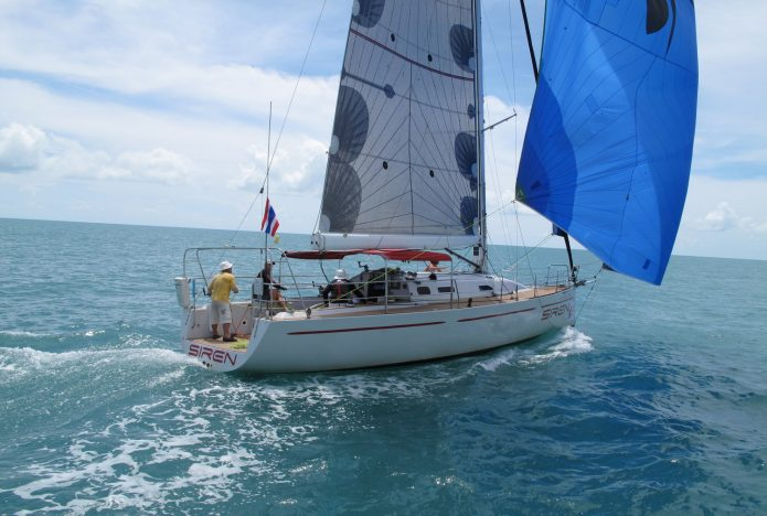 Sailing in Pattaya Thailand